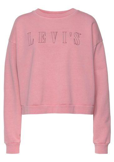 Levi's® Sweatshirt  Sweat Graphic Diana Crew  mit gesticktem großem Logo im Vorderteil