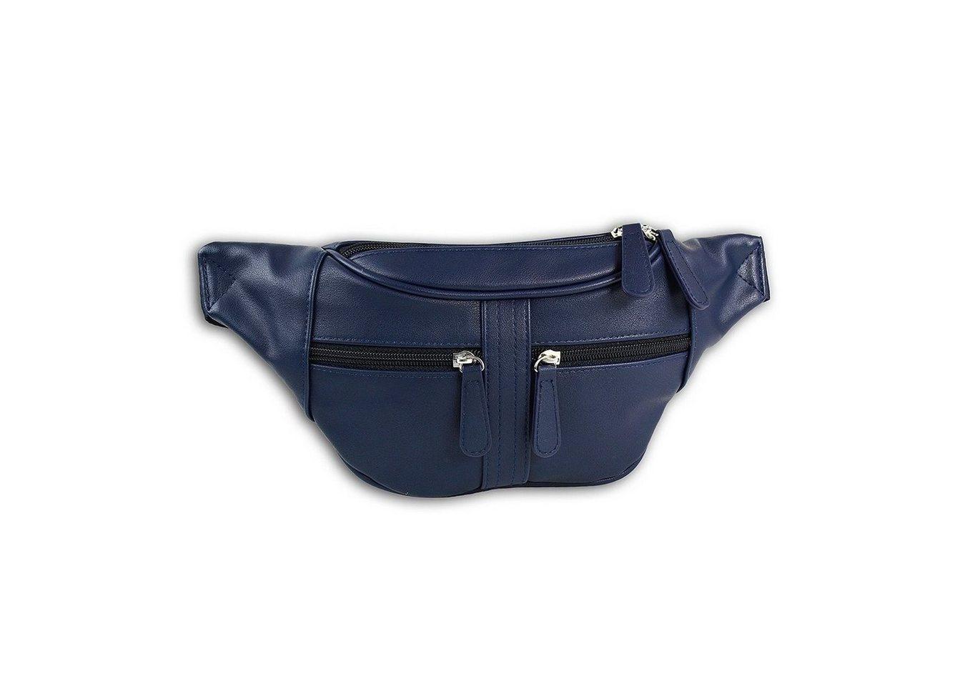 new bags -  Gürteltasche »OTD5023X  Damen Hüfttasche Gürteltasche« (Gürteltasche), Damen, Jugend Tasche navy, ca. 35cm x ca. 5cm