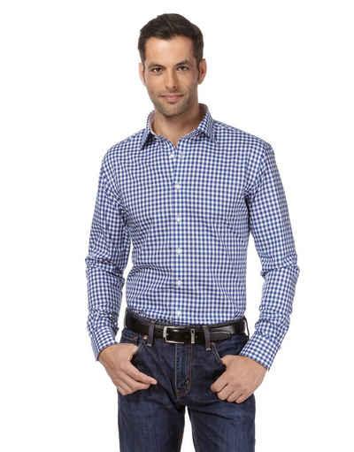 Vincenzo Boretti Business-Hemd im Regular Fit-Schnitt