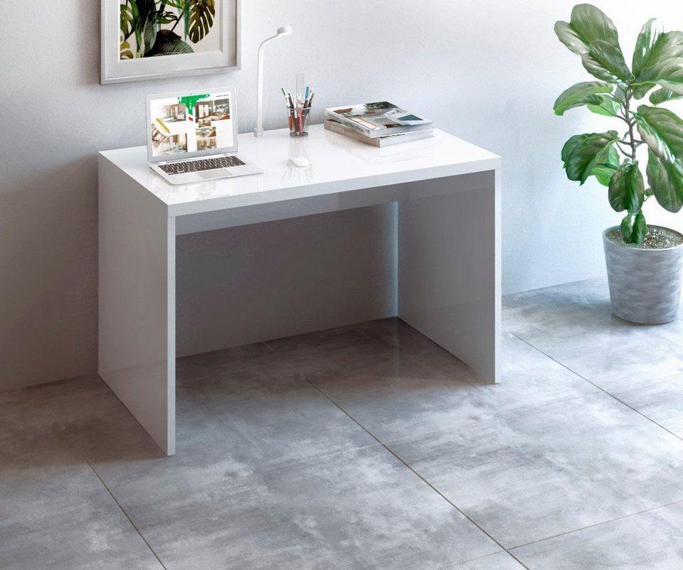 Schreibtisch Weiß Lack 2021