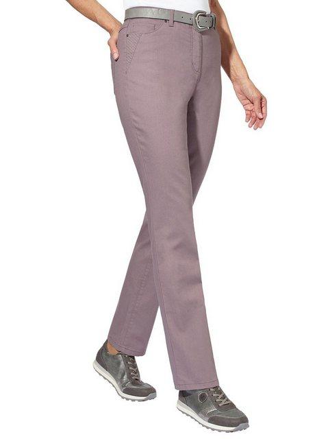 Hosen - Casual Looks 5 Pocket Jeans › lila  - Onlineshop OTTO