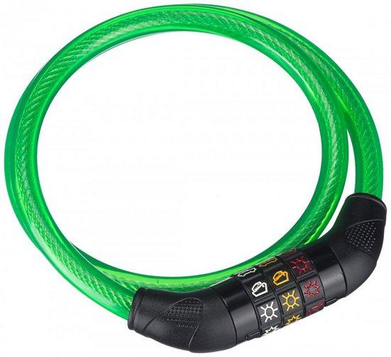 Point Faltschloss »Point Symbolschloß Kinder - Farbe: grün«