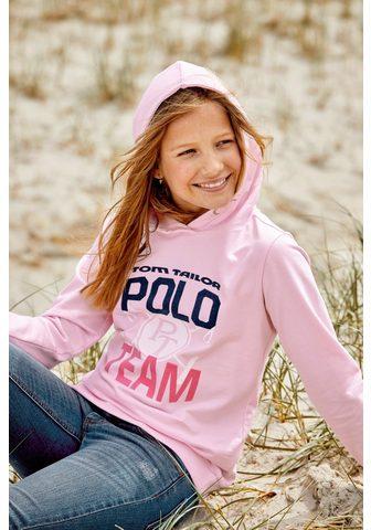 TOM TAILOR Polo Team Sportinis megztinis su gobtuvu su Logo...