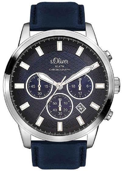 s.Oliver Quarzuhr »SO-3336-LC«