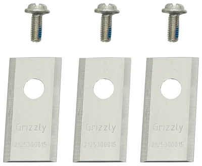 Grizzly Tools Mährobotermesser (3-St), für Rasenmähroboter, 3er Set