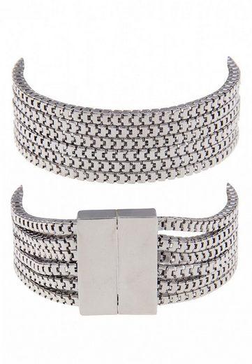 leslii Armband aus schmalen glänzenden Gliederketten