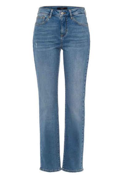 Zero 5-Pocket-Jeans »Straight Fit 30 Inch« Plain/ohne Details