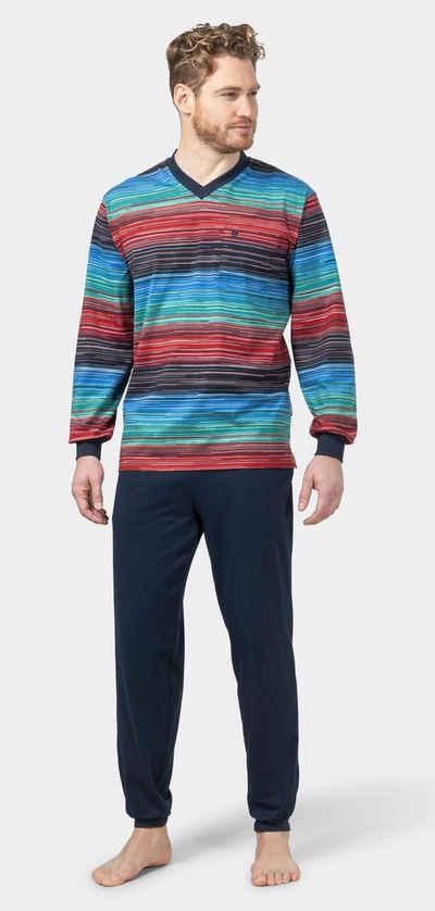 Hajo Pyjama »Hajo Herren Schlafanzug« (2 tlg) Klima Komfort Bügelfrei