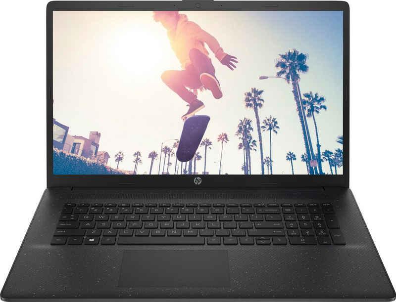 HP 17-cp0212ng Notebook (43,9 cm/17,3 Zoll, AMD Athlon 3050U, Radeon Graphics, 256 GB SSD, Kostenloses Upgrade auf Windows 11, sobald verfügbar)