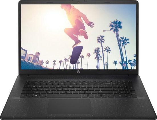 HP 17-cp0212ng Notebook (43,9 cm/17,3 Zoll, AMD Athlon, 256 GB SSD)