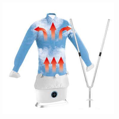 CLEANmaxx Bügelsystem, Hemdenbügler + Hosenaufsatz mit Dampffunktion