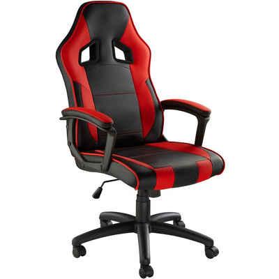 tectake Gaming-Stuhl »Gamingstuhl Senpai« (1 Stück), einstellbare Wippmechanik
