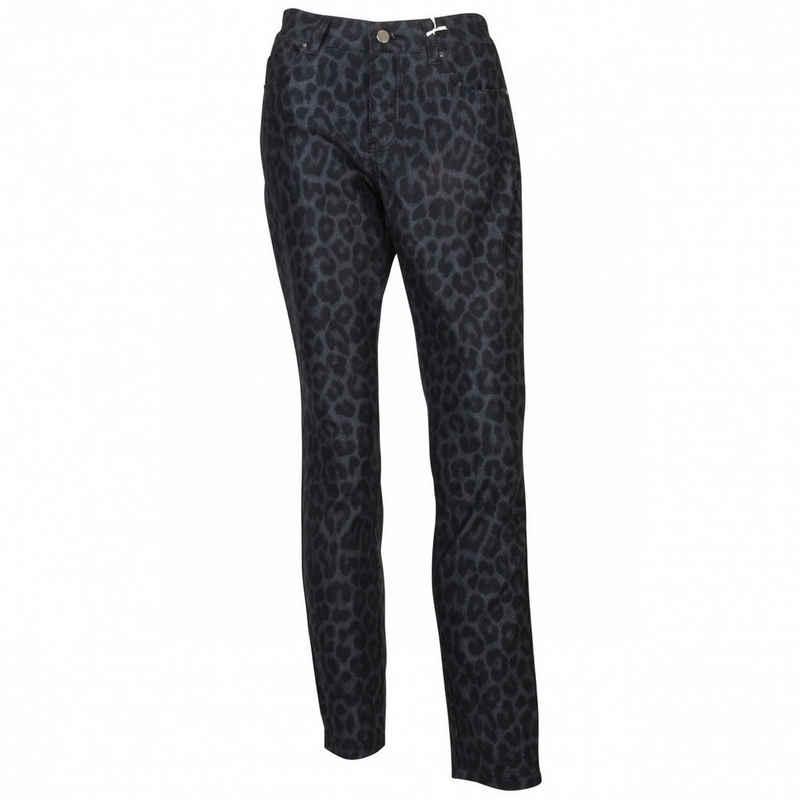 MAC 5-Pocket-Jeans »DREAM SKINNY Jeans Damen Leo Print« 5-Pockets Style