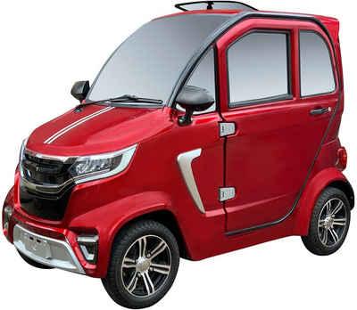 ECABINO Elektromobil »4-Rad eLazzy Premium 45 km/h - mit Vor-Ort-Einweisung«, 2000 W