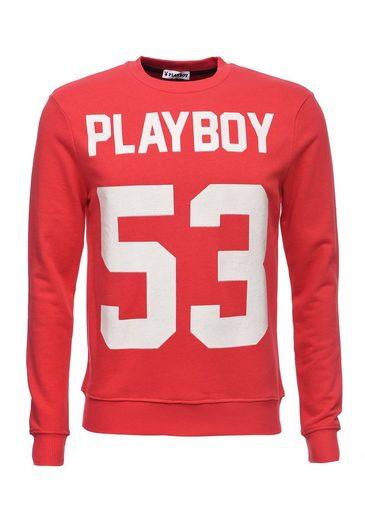 PLAYBOY Sweatshirt mit Frontdruck