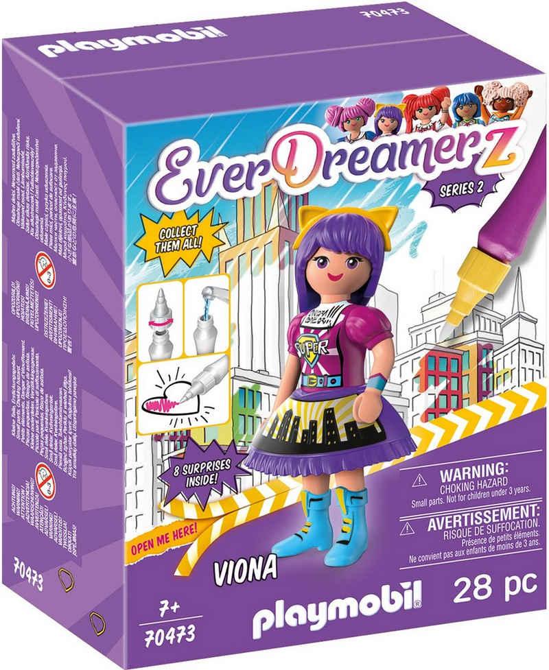 Playmobil® Konstruktions-Spielset »Viona - Comic World (70473), EverDreamerz«, (28 St), Made in Europe