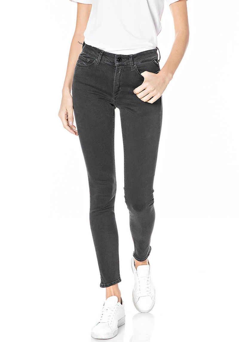 Replay Skinny-fit-Jeans »Luzien« Powerstretch - 5-Pocket-Style