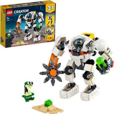 LEGO® Konstruktionsspielsteine »Weltraum-Mech (31115), LEGO® Creator«, (327 St), Made in Europe