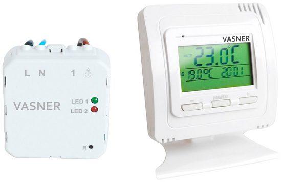 Vasner Raumthermostat »VFTB-US«, für Infrarotheizung, Sender + Unterputz Empfänger