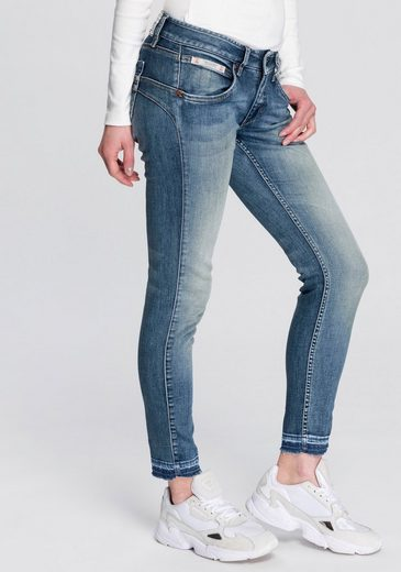 Herrlicher Skinny-fit-Jeans »TOUCH CROPPED« Low Waist Powerstretch