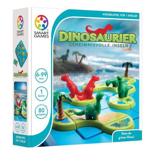 Smart Games Spielesammlung, Solitärspiel »Dinosaurier - Geheimnisvolle Inseln«