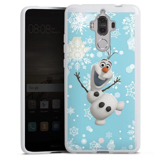 DeinDesign Handyhülle »Frozen Olaf« Huawei Mate 9, Hülle Frozen Olaf Disney Offizielles Lizenzprodukt