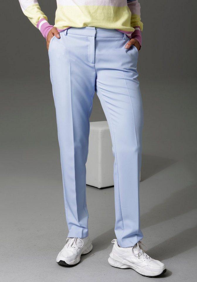 aniston casual -  Anzughose mit kleinen Schlitzen am Beinabschluss - NEUE KOLLEKTION