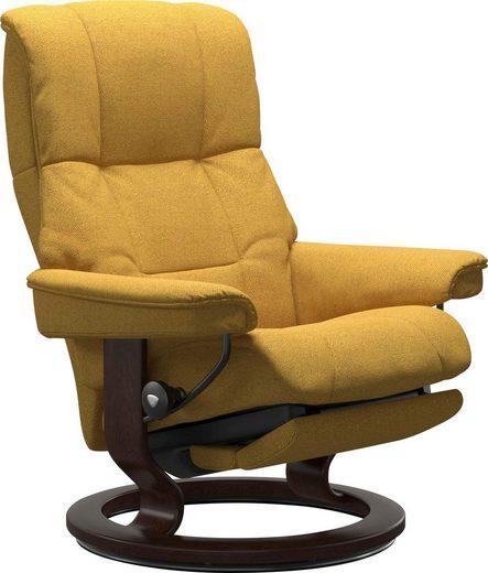 Stressless® Relaxsessel »Mayfair«, mit Classic Base und Power™, elektrisch verstellbar, optional 2-motorisch, Größe M & L, Gestell Braun