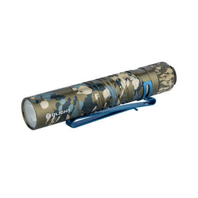 OLIGHT Taschenlampe »I5T EOS Taschenlampe 300 Lumen 60 Meter Kühle Weiß Mini LED Heckschalter EDC Schlüsselanhänger Taschenlampe, mit AA-Batterie, Perfekt für Outdoor, Wandern, Camping, Angeln«