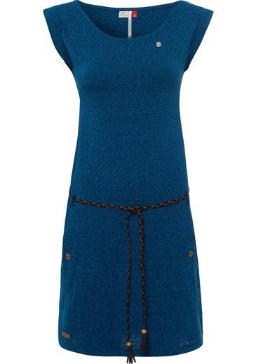 Ragwear Jerseykleid »TAG« (2-tlg., mit abnehmbarem Gürtel) in melierter Optik
