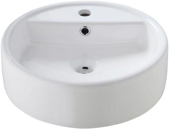 Aufsatzbecken » Madrid«, Waschbecken, rund, Breite 44 cm