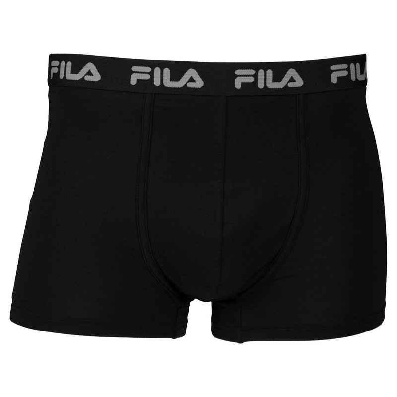Fila Boxer »Herren Basic Boxer Shorts, Elastic mit Logo -«