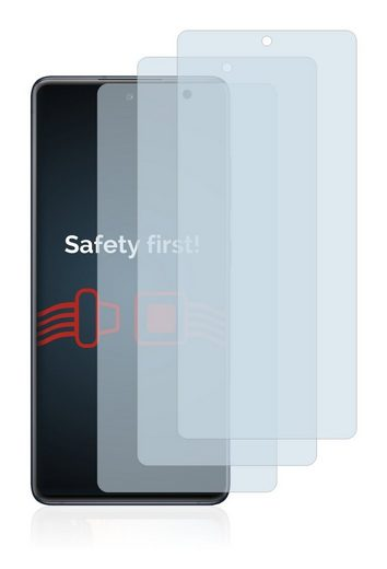 Savvies Schutzfolie »Panzerglas für Samsung Galaxy S20 FE 5G«, (3 Stück), Schutzglas Echtglas 9H klar