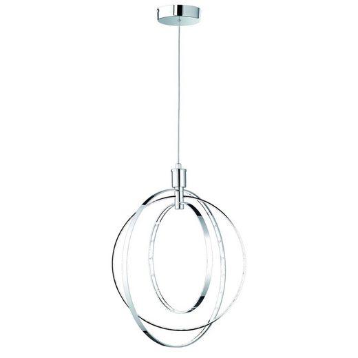 Reality Leuchten LED Pendelleuchte »LED-Pendelleuchte-RL146«, Inklusive festeingebauten SMD LEDs