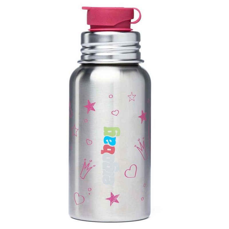 ergobag Trinkflasche »Zubehör Pura Edelstahl-Trinkflasche 18 cm 0.5 l«