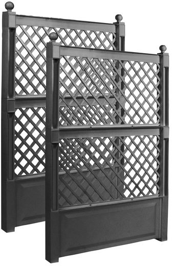 KHW Spalier, 2 St., 2er Set, BxTxH: 100x6x140 cm