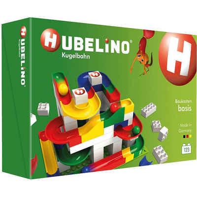 Hubelino Spielbausteine »Hubelino - Kugelbahn Basis Baukasten, 123-tlg.«