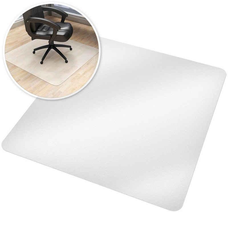 tectake Bodenschutzmatte »Bodenschutzmatte für Bürostühle«, 1-St.