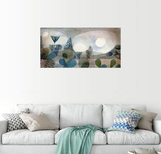 Posterlounge Wandbild, Ozeanische Landschaft
