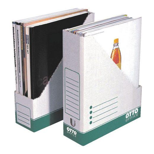 Otto Office Stehsammler, 10er-Pack, für Format DIN A4, stabile Wellpappe