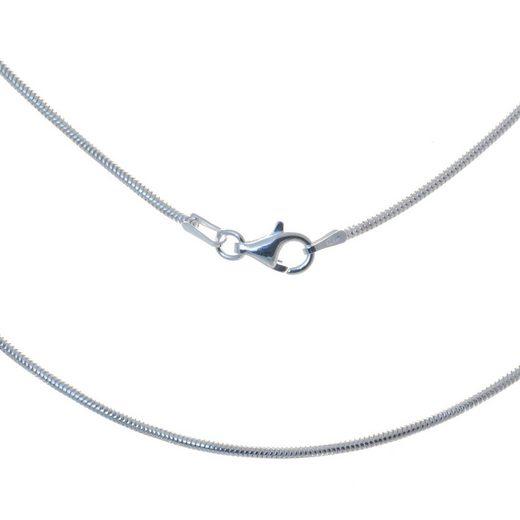 Bella Carina Silberkette »Schlange 1,3 mm«, 925 Sterling Silber