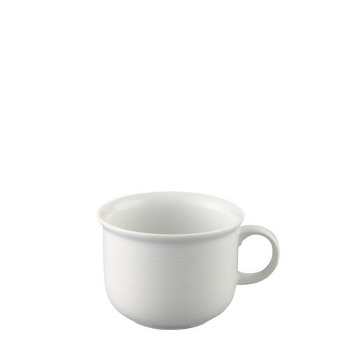 Thomas Porzellan Tasse »Trend Weiß Kaffee-Obertasse«, Porzellan