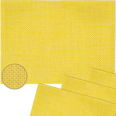 Platzset, »Tischsets ELEGANCE 4 Stk. gelb Platzsets 45 cm«, matches21 HOME & HOBBY