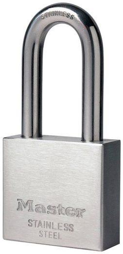 Master Lock Vorhängeschloss, Sicherheitsklasse 5, Edelstahl