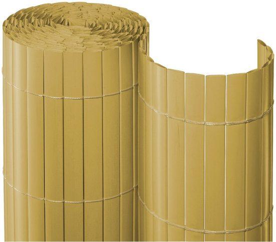 NOOR Balkonsichtschutz BxH: 300x90 cm, bambusfarben