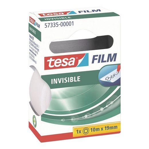 tesa Klebeband »invisible« (1-St) matt-unsichtbar und beschriftbar