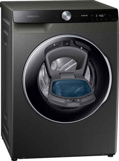 Samsung Waschmaschine WW6500T INOX WW80T654ALX/S2, 8 kg, 1400 U/min, AddWash™