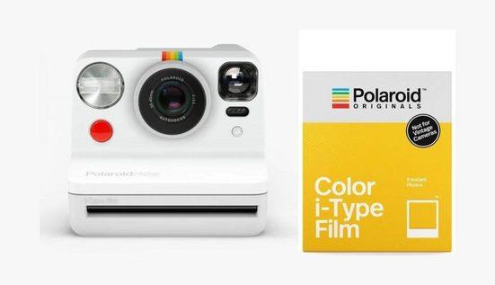Polaroid Kamerazubehör-Set »Now weiß + Color-Film«