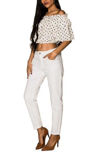 Nina Carter Boyfriend-Jeans »3207« Damen Mom Jeans