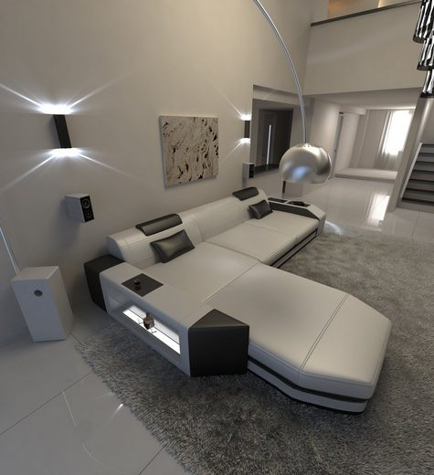 Sofa Dreams Sofa »Prato«, L Form